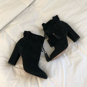 Suede Sexy Booties